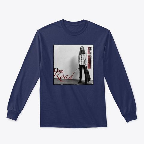 The Road V1 Album Merch Navy T-Shirt Front