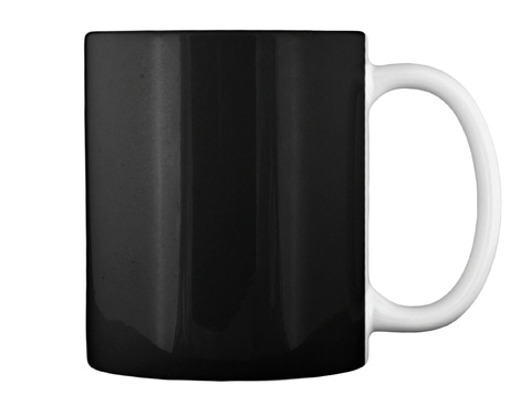 American Veteran Mug Black Mug Back