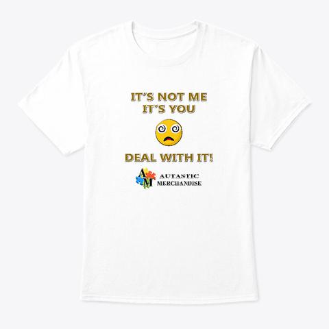 Autastic Merchandise (Not Me Collection) White T-Shirt Front