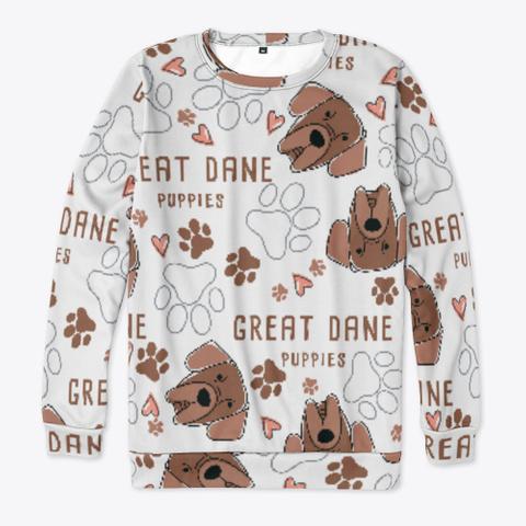 Great Dane Cute Sweatshirt Standard T-Shirt Front