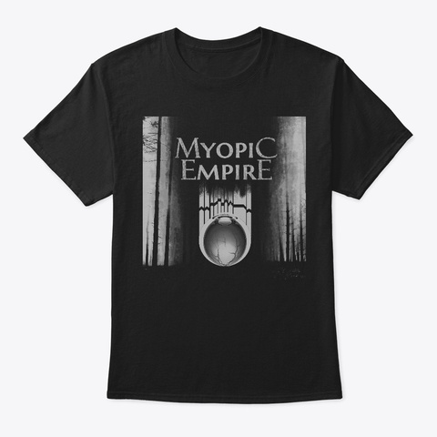 Forest Of Empires Black T-Shirt Front