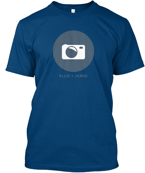 Ellie Jared Cool Blue T-Shirt Front
