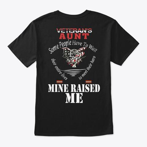 Veteran   Soldier   Military   Vet   856 Black T-Shirt Back