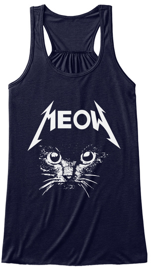 Meow Midnight Women's Tank Top Front