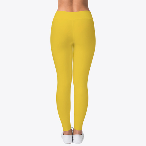 L&L Leggings, Hoodie And I Phone Case Yellow T-Shirt Back