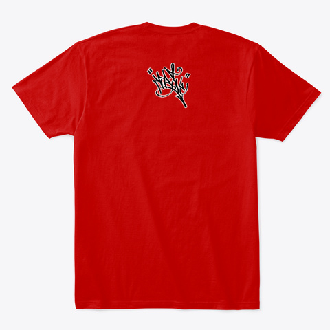 Cayces High Classic Red T-Shirt Back