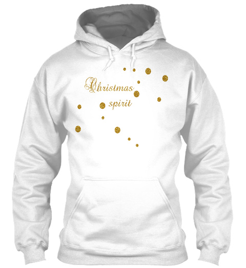 Seasonal Event: Christmas White T-Shirt Front