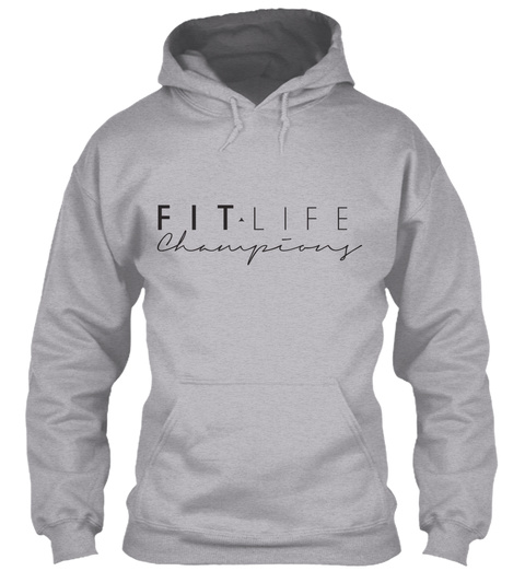 Fit For Fall Clothing Available Now! Sport Grey T-Shirt Front