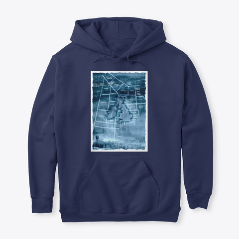 Shipping Forecast Areas Navy T-Shirt Front
