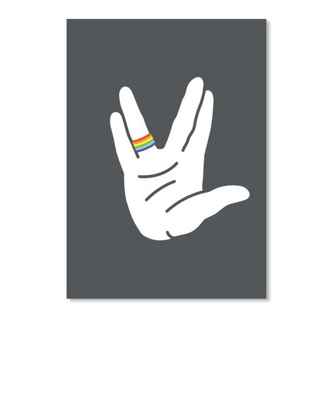 Live Long Sticker [Int] #Sfsf Dark Grey Sticker Front