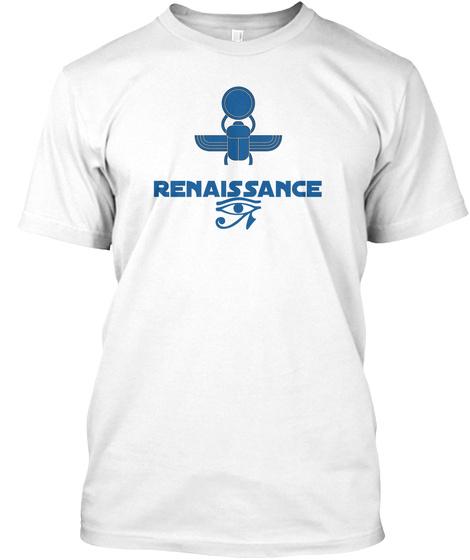 Renaissance White T-Shirt Front
