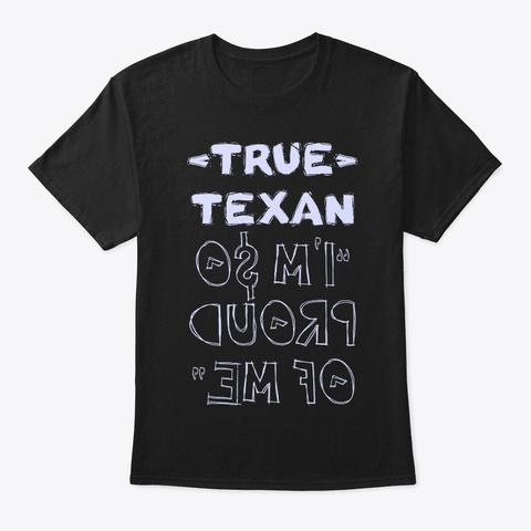 True Texan Shirt Black T-Shirt Front