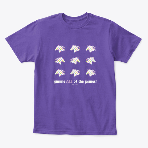 Gimme Purple  T-Shirt Front