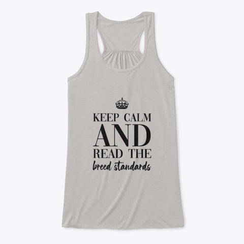 Keep Calm | Tdhs Athletic Heather T-Shirt Front