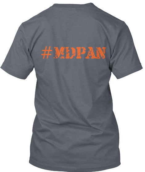 Mdpa Deep Heather T-Shirt Back