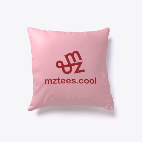 Hex Heart Pillow Pink T-Shirt Back