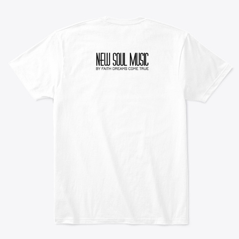 We Are (A Chosen Generation) White T-Shirt Back