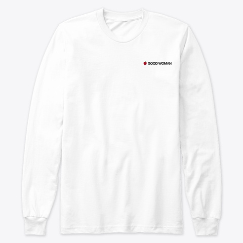 Good Woman   Drop 01 White T-Shirt Front