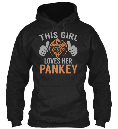 Loves Pankey   Name Shirts Black T-Shirt Front