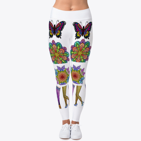 Lovely Artwork Leggings Standard T-Shirt Front