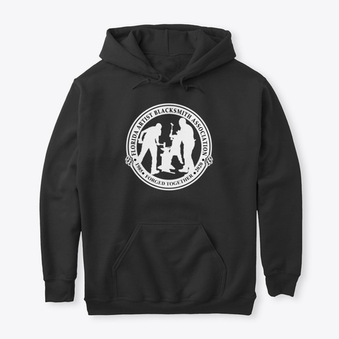 Faba Conference 2020 Hoodie White Logo Black T-Shirt Front
