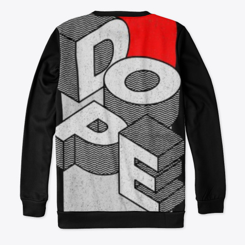 Christianity Is Dope Black T-Shirt Back