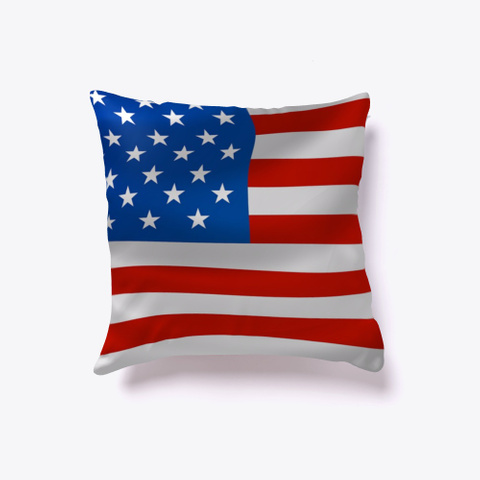 American Flag Eagle Pillow Covers  Standard T-Shirt Back