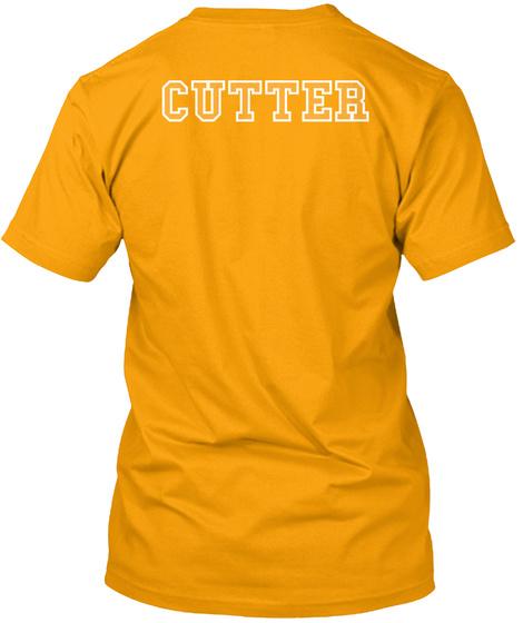 Cutter Gold T-Shirt Back