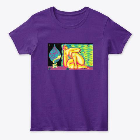 Eva In Love Purple T-Shirt Front