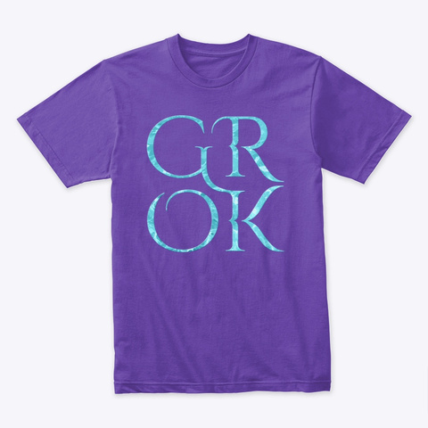 Grok Purple Rush T-Shirt Front