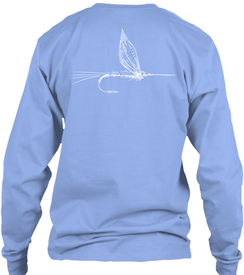 Tho On The Fly Ls Tee Light Blue Long Sleeve T-Shirt Back