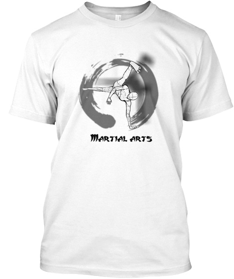 Capoeira Desing Martial History White T-Shirt Front