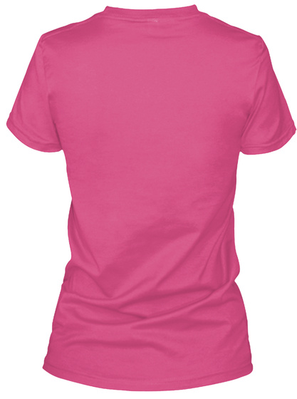 Drink Beer & Milk Cows! Wow Pink T-Shirt Back