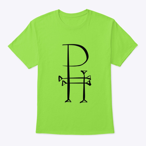Classic Logo Lime T-Shirt Front
