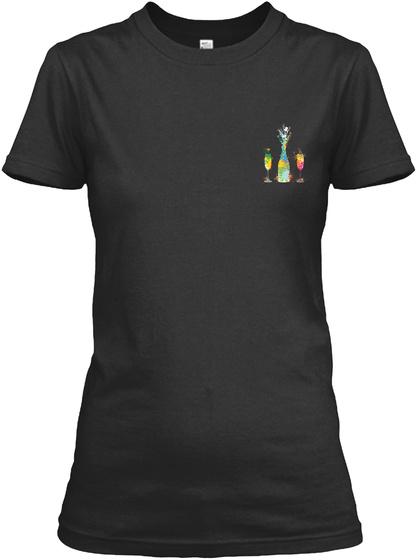 Awesome Bartender  Shirt Black T-Shirt Front
