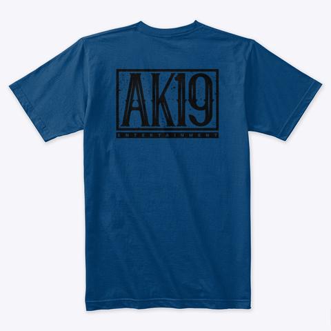 Blacklite District: Through The Ages Art Cool Blue T-Shirt Back
