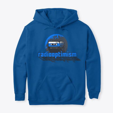 Radiooptimism Hoodies Royal T-Shirt Front