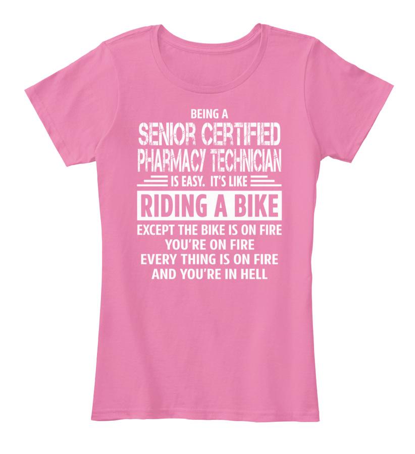Senior Certified Pharmacy Technician Hoodie Tshirt