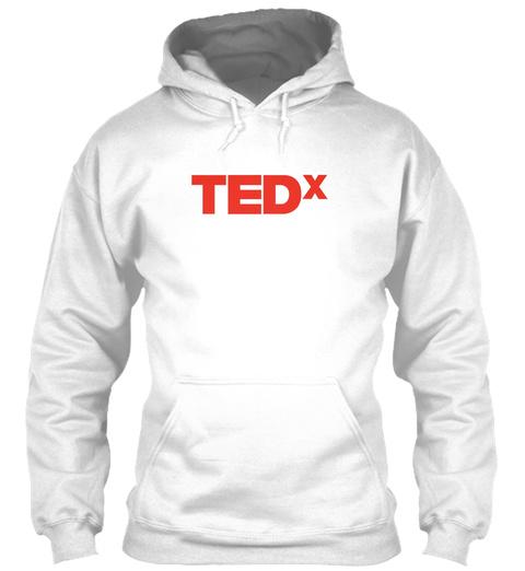 Fan Art Tedx White T-Shirt Front