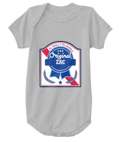 Zac The Original Blue Ribbon! Heather  T-Shirt Front