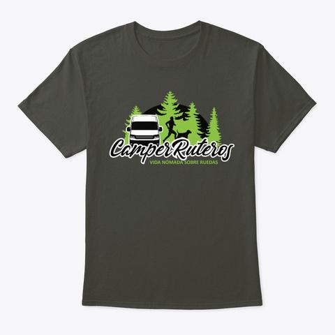 Somos #Camper Ruteros Smoke Gray T-Shirt Front