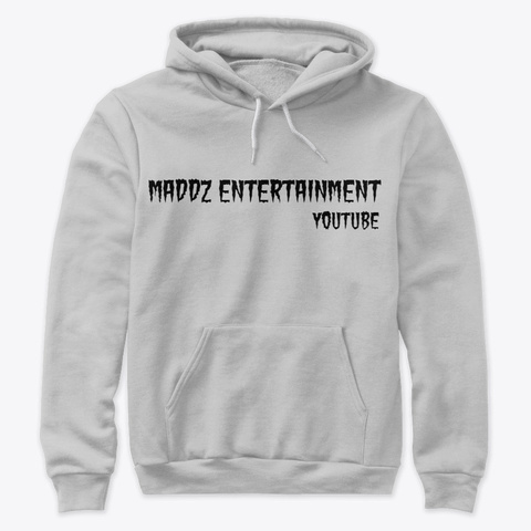 Maddz Entertainment Athletic Heather T-Shirt Front