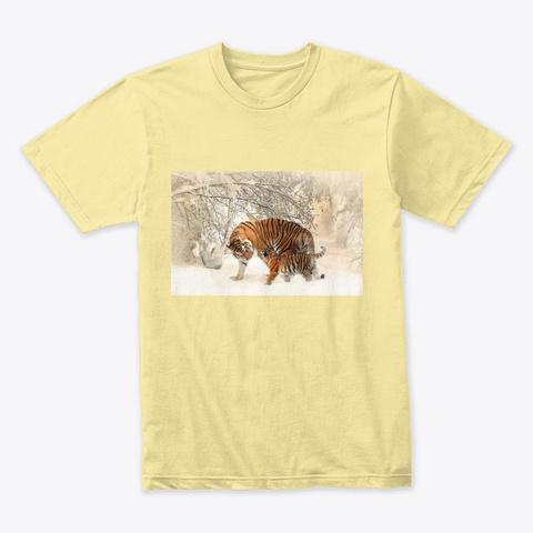 Tigers Banana Cream T-Shirt Front