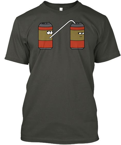Soda Guys Smoke Gray T-Shirt Front