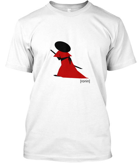 [Ronin] White T-Shirt Front