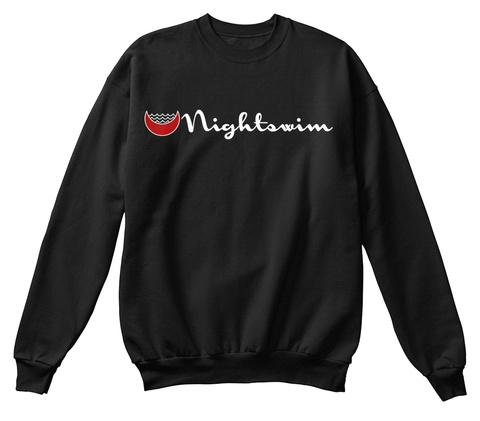 Nightswim Black T-Shirt Front