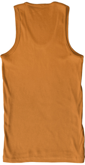 Bison / Buffalo Skull W Feathers Orange T-Shirt Back