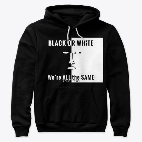Unity Hoodie Black T-Shirt Front