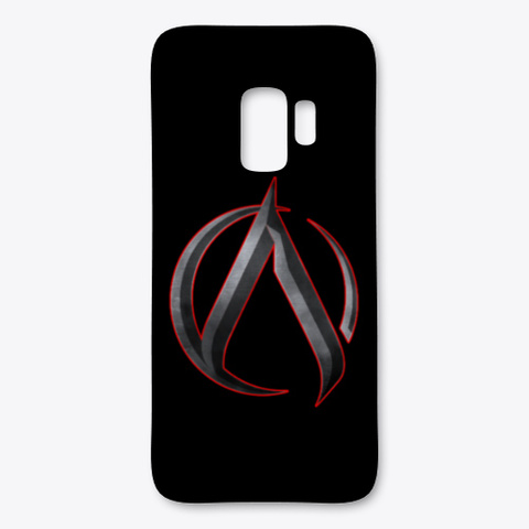 Ak 'archetype' Samsung Phone Case Black T-Shirt Front