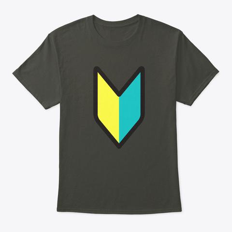Wakaba Mark Smoke Gray T-Shirt Front